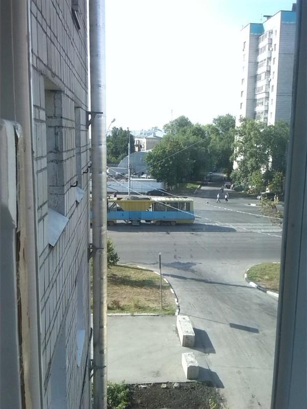 Грузовой трамвай Наблюдение, Трамвай, Фотография