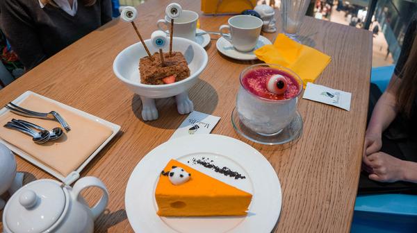 Необычные пирожные в необычном ресторане в Москве моё, необычное, Необычная еда, пирожное, Ресторан, Москва