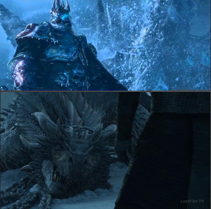 Догнать кумира Игра престолов 7 сезон, Спойлер, World of Warcraft, Photoshop, Длиннопост