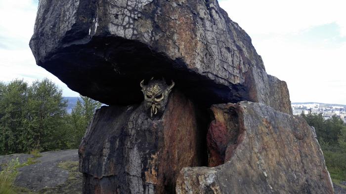 Вороний камень. Мурманск, The Elder Scrolls, Pepakura, Фотография, Длиннопост