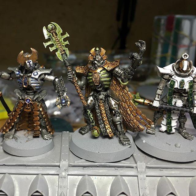 [НЕ] Первый месяц покраса - резиновая триархия! Warhammer 40k, Warhammer, Wh miniatures, Overlord, Резина, Длиннопост