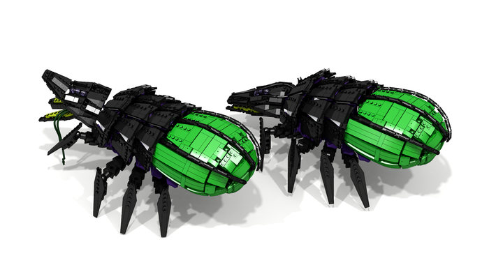 C&C3:Kane Wrath. LDD модели. Lego, Ldd, Lego Digital Designer, Scrin, TiberiumWars, Самоделки, Длиннопост