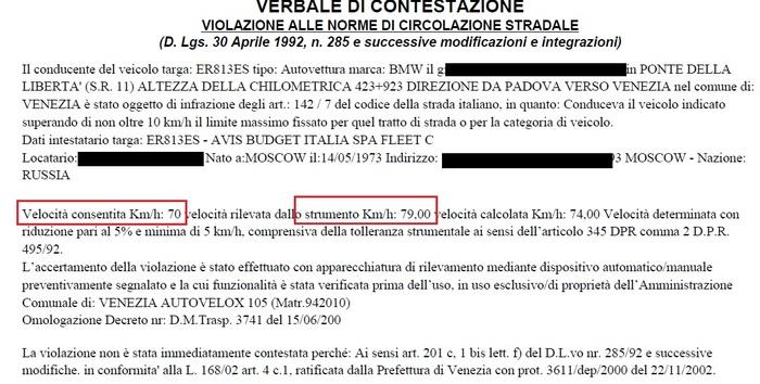 Итальянская полиция стреляет в спину Штраф, Италия, Превышение скорости, Камера, Текст, Письма счастья, Длиннопост