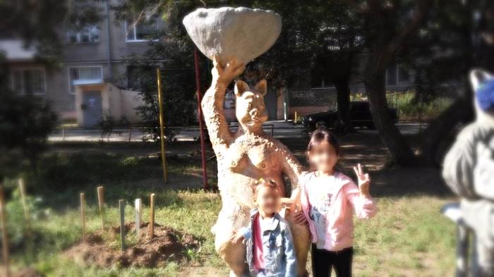 Ужасы нашего городка Ужасы нашего городка, Скульптура