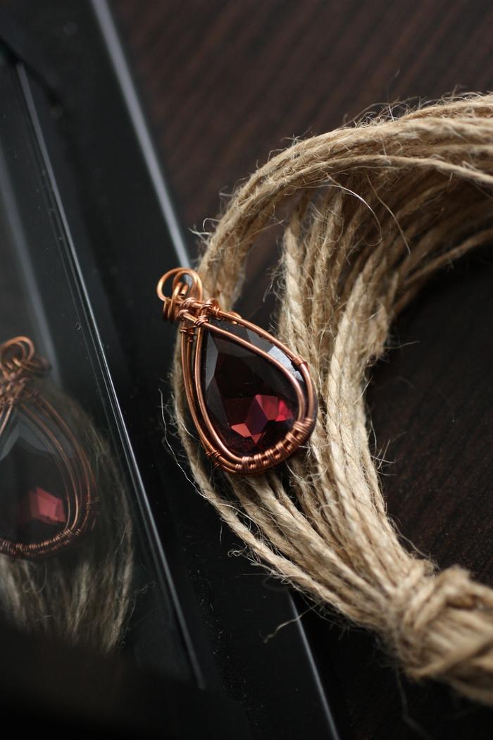 Подборка кулонов Медь, Поделки из проволоки, EnkeleEnk, Wire wrap, Fabercraft, Ручная работа, Украшения ручной работы, Длиннопост
