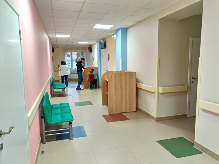Ремонт детской поликлиники Ремонт, Больница, Детская поликлиника, Татарстан, Альметьевск, Длиннопост