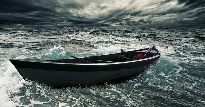 440 ДНЕЙ ОДИНОЧЕСТВА длиннопост, Шторм, лодка, Рыбак, пропал безвести, возвращение домой, море, океан