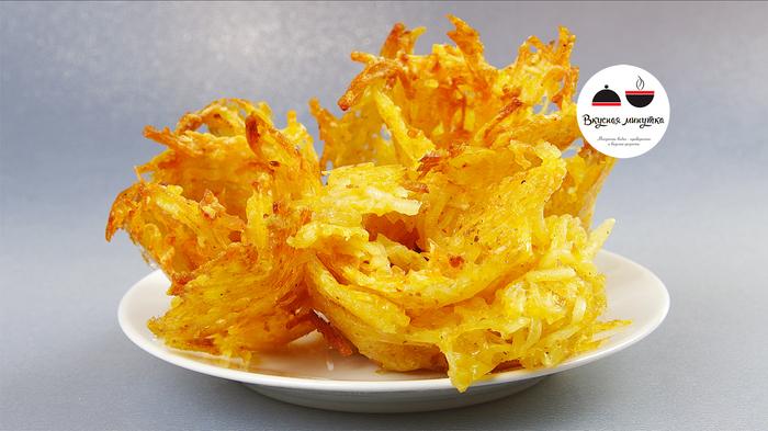 Картофель на терке в духовке