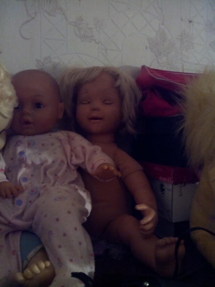 Я помню тут писали про криповых кукол Кукла, Крипота, Длиннопост