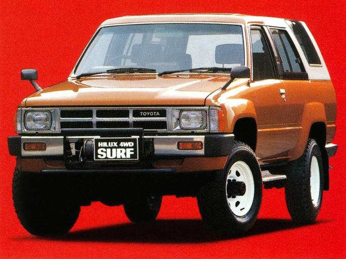 Toyota Hilux Surf (LN60) '1984–86 Toyota, Toyota hilux, Фотография, Реклама, Длиннопост