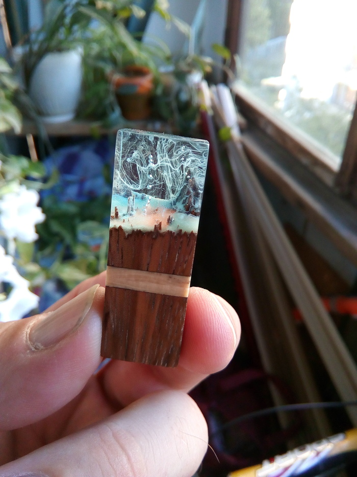 How to make a flash drive out of epoxy resin, exotic wood and mammoth tusk can be, this, very, flash drives, mammoth, do