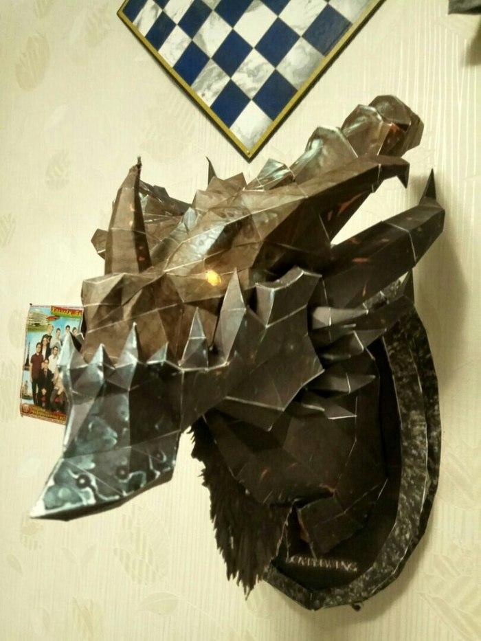 Голова смертокрыла из варкрафта :) Смертокрыл, Wow, World of Warcraft