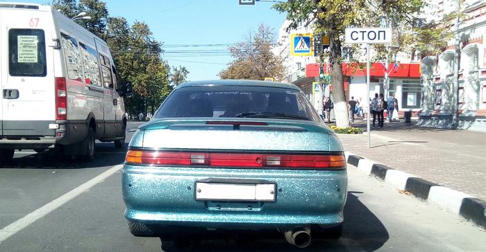 Гламур Гламур, Авто, Блестки