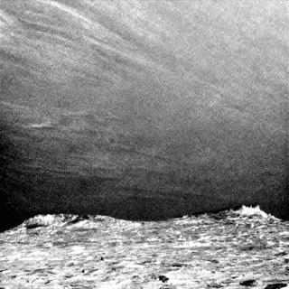 Curiosity передал снимки облаков на Марсе марс, curiosity, облака, гифка