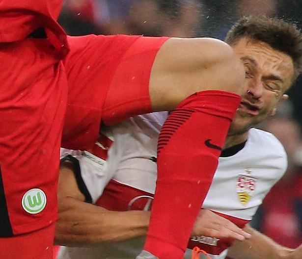 Футбольный флешмоб ударов по лицу