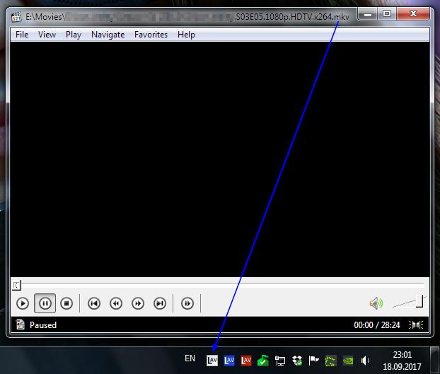Автоматический выбор языка субтитров и аудио в Media Player Classic Mpc, Media player classic, Субтитры, Гайд, Длиннопост, Windows