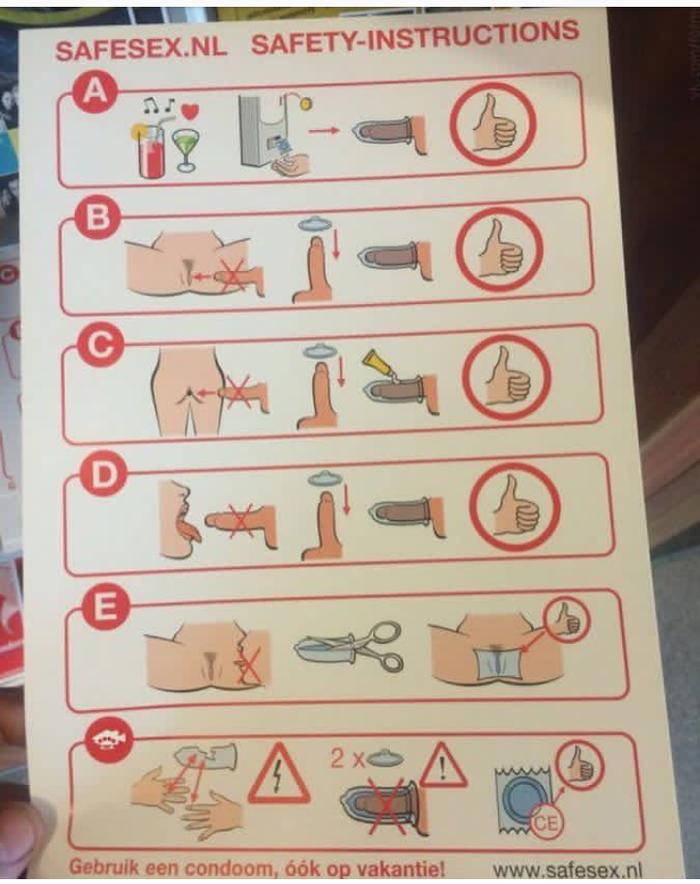 Инструкция к презервативу финская