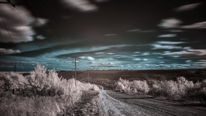Немного пейзажей. Пейзаж, Инфракрасная съёмка, Фотография, Ночная съемка, Длинная выдержка, Длиннопост