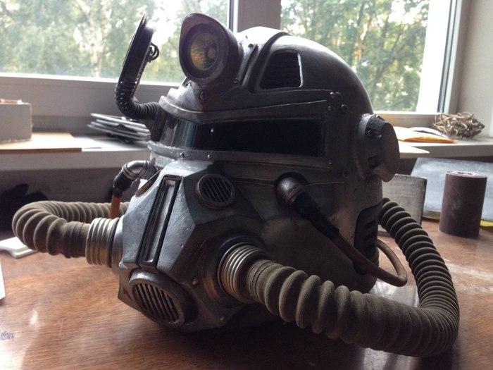 T51b 크래프트, 낙진, 긴 게시물, 실사의 롤 플레잉 게임, airsoft, postapokalipsis, 자신의 손에 기반한 저자의 헬멧