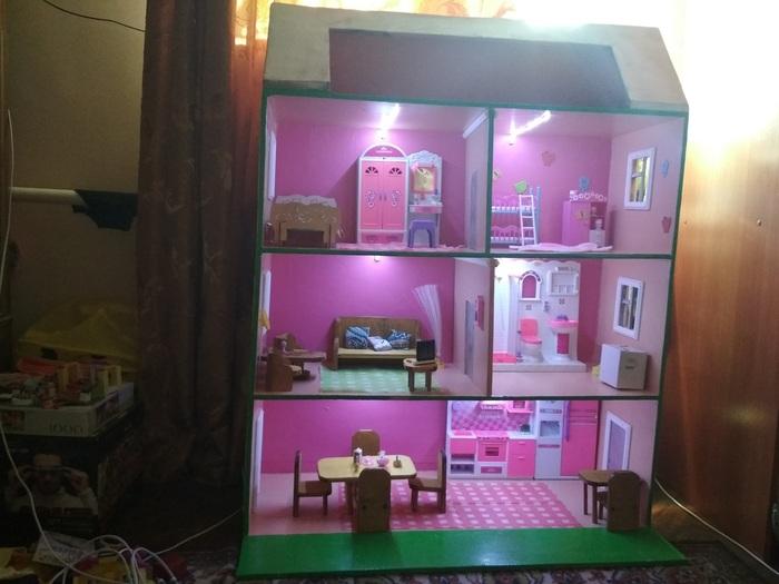 Дома для кукол Кукольный дом, Кукольная мебель, Длиннопост