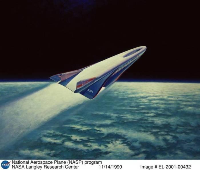 Орбитальный бомбардировщик Ту-2000 Космос, Самолет, Экспериментальный проект, Ту-2000, Оружие, Длиннопост