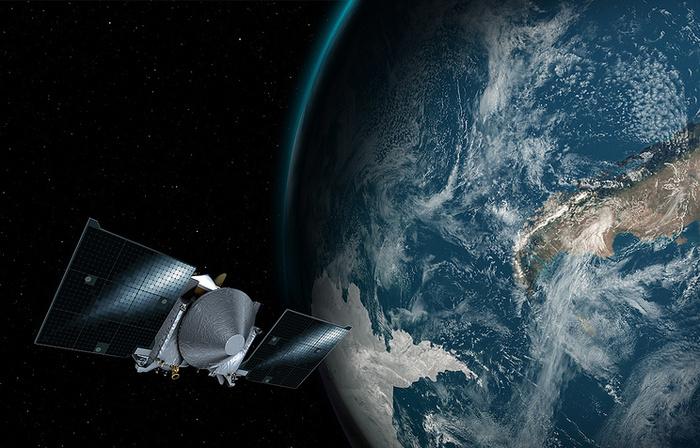 Зонд OSIRIS-REx совершил маневр над Землей и вышел на траекторию полета к астероиду Бенну ТАСС, Космос, Астероид, Osiris-Rex, Длиннопост