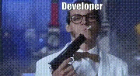Разработчик, тестировщик, клиент Разработчики, Тестировщики, Клиенты, Game over Man, Гифка