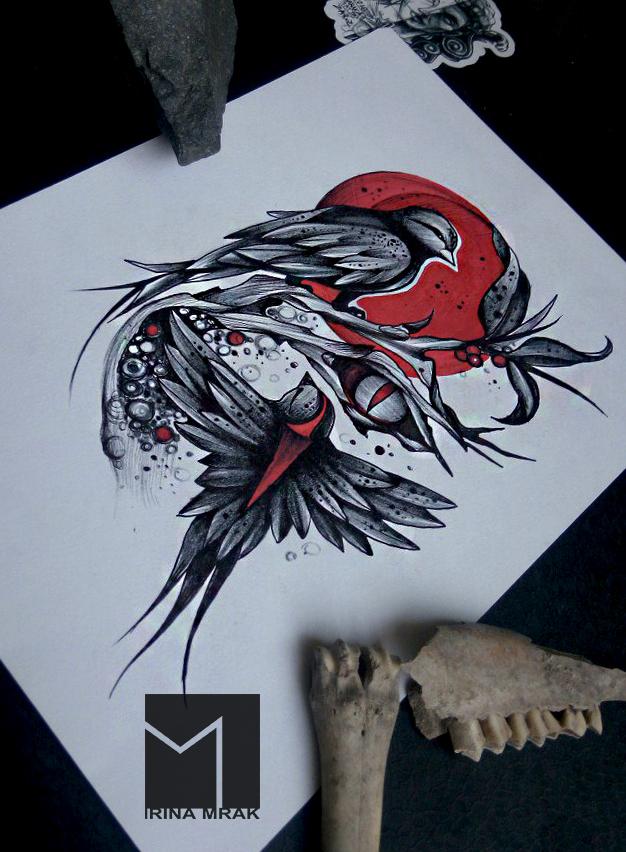 новые рисунки на тату
