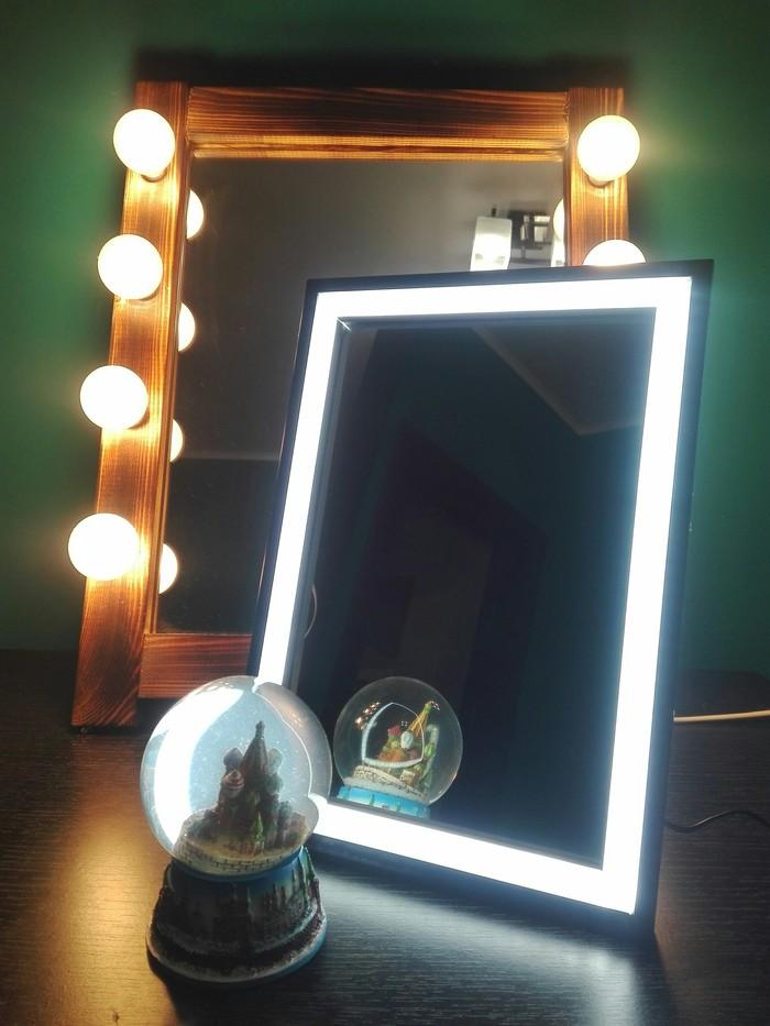 Гримерное зеркало на светодиодахПодробный пост зеркало, Гримерное зеркало, своими руками, светодиодная лента, привет читающим тэги, длиннопост