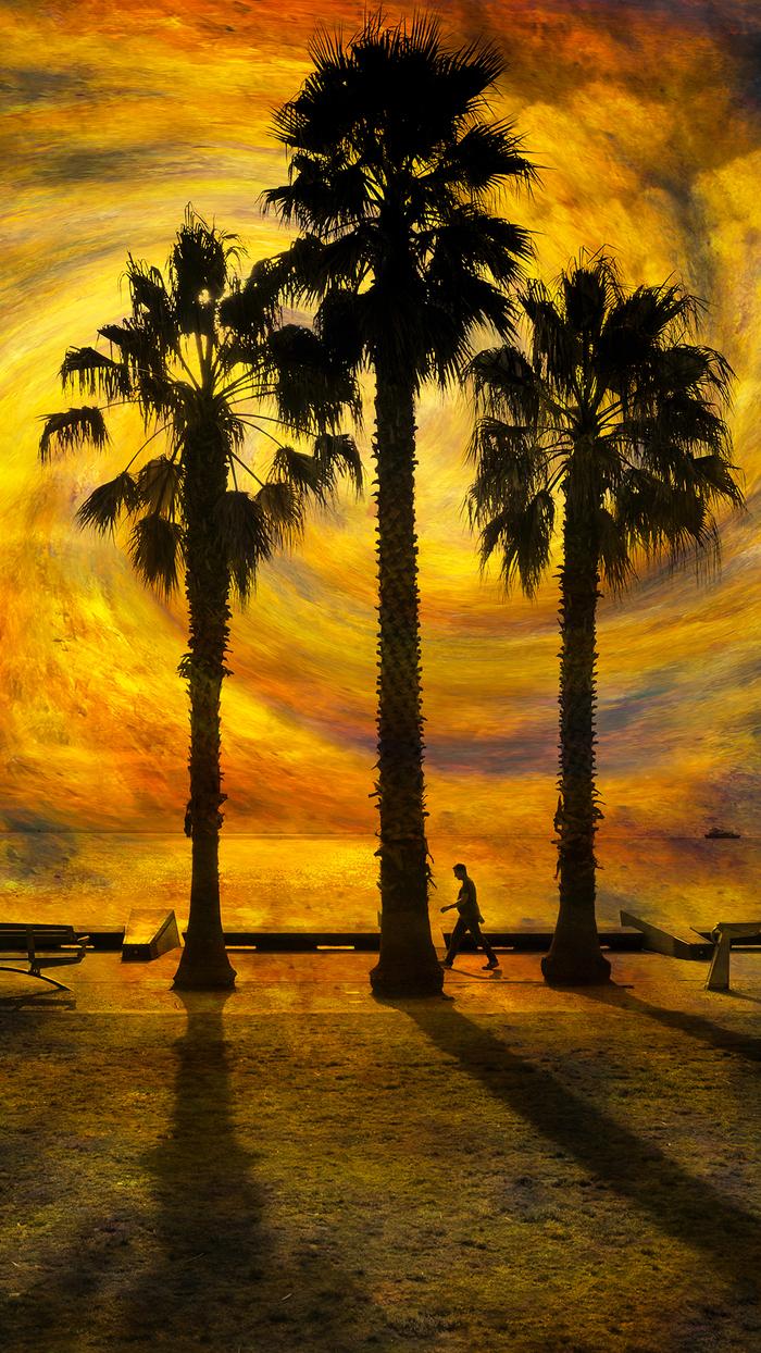 Вечернее время в Майами