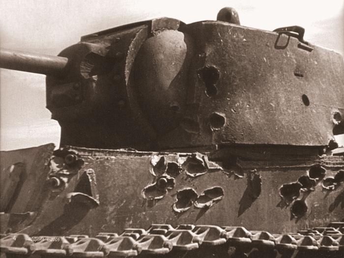Уничтожить 22 танка за 30 минут. Текст, Танки, Кв-1, Великая Отечественная война, Длиннопост