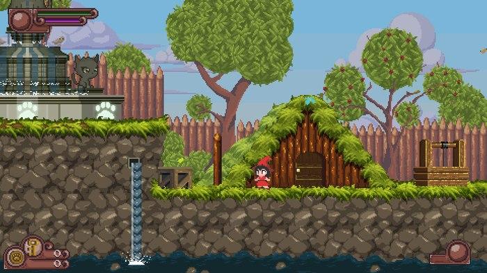 Catmaze. Пост о вдохновении и отличиях игры Gamedev, Indie, Игры, Разработка игр, Pixel art, Гифка, Длиннопост