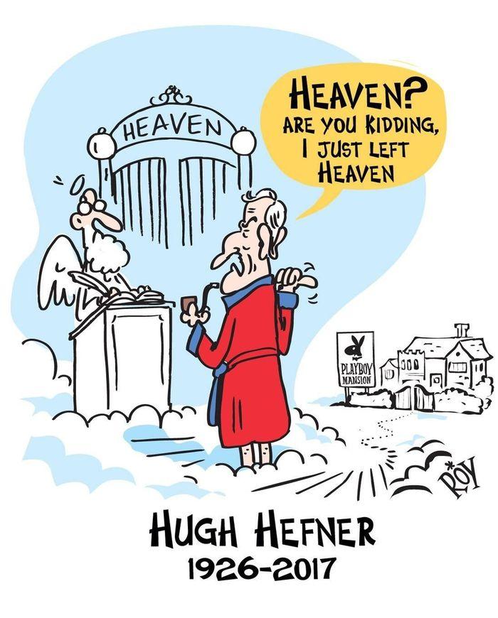 Хью Хефнер Рай, Небеса, Хью Хефнер, Playboy, 9GAG