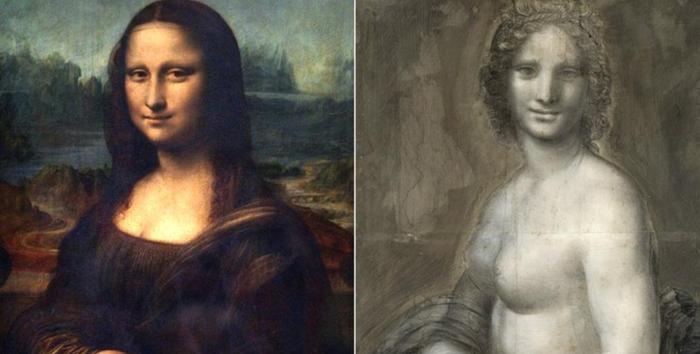 Недавно была найдена картина обнаженной Моны Лизы во Франции, экспертиза доказала, что она была также от Да Винчи. Мона лиза, Картина, Леонардо да Винчи, Находка, Франция