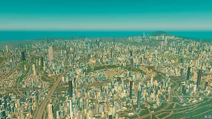 Cities Skylines. 560 000 населения. Длиннопост, Cities: Skylines, Показатели, Игры, Компьютерные игры