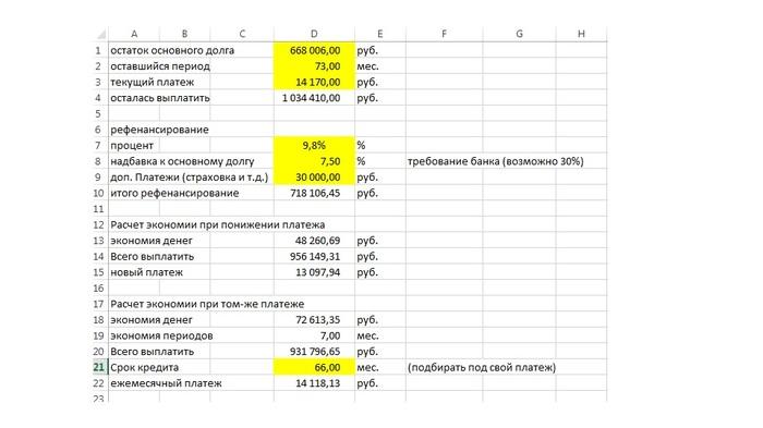 расчет ставки рефинансирования онлайн