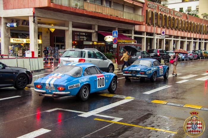 Alpine A110 Авто, Фотография, Ралли, Монако