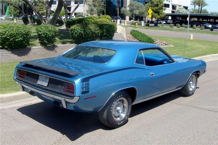 1970 PLYMOUTH 'CUDA Ретроавтомобиль, Плимут, Американская машина, Автомобильная классика, Длиннопост