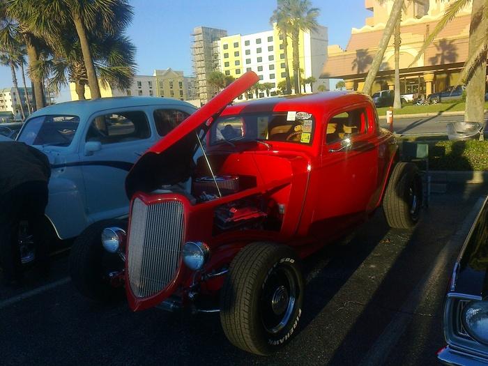 Ретро во Флориде Ретроавтомобиль, Флорида, США, Длиннопост