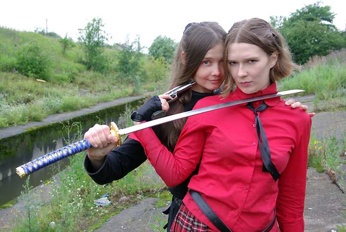 Недокосплея пост Девушки и оружие, Косплей, Фотография, Длиннопост