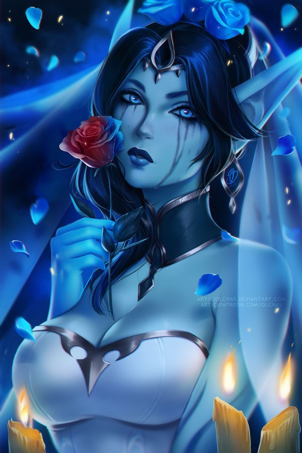 Ghost Bride Morgana by OlchaS