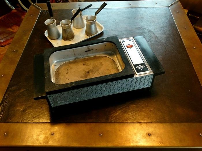 Плитка для кофе по-восточному (на песке). До и после Кофе, Кофемашина, Своими руками, Медь, Длиннопост, Ремесло