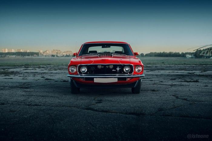 1969 Ford Mustang 1969 Ford Mustang, Авто, Фотография, Ретроавтомобиль, Длиннопост