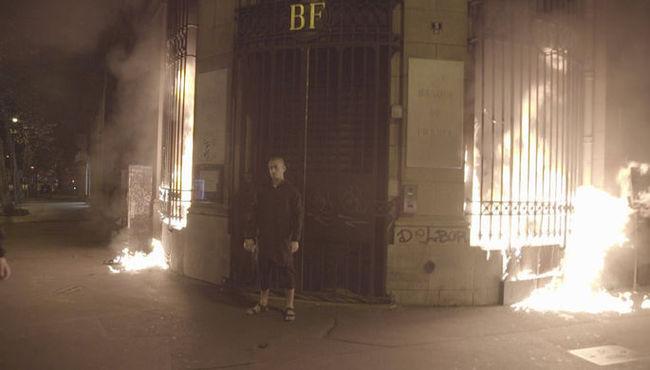 Павленский поджег Банк Франции Франция, Павленский, Политика