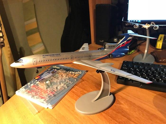 Дорогие моделисты, поделитесь опытом) Стендовый моделизм, Моделизм, Авиация, Ту-154, Boeing-737, Длиннопост