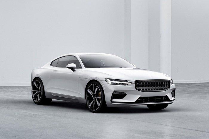 Концепт-кар Volvo Coupe превратился в серийное гибридное купе Polestar 1 Авто, Volvo, Гибрид, Купе, Длиннопост