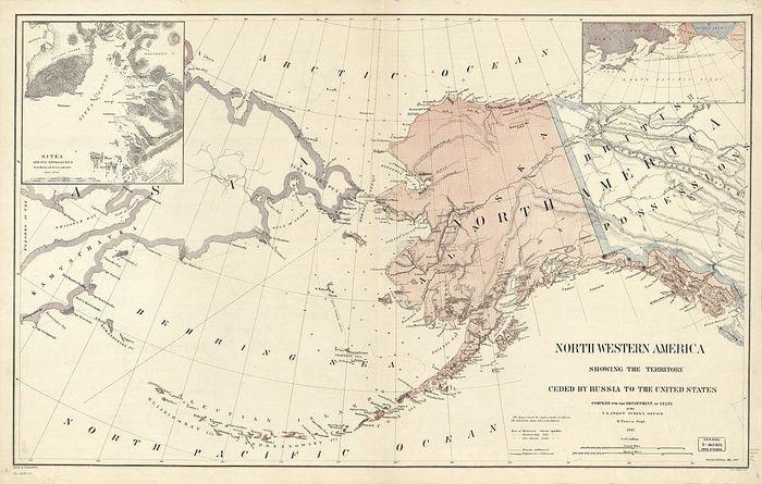 Аляска Аляска, Продажа аляски