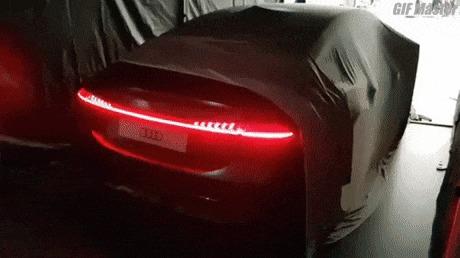 Новые стоп-сигналы Audi