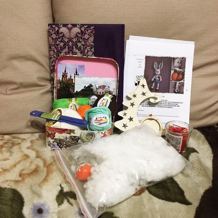 Новогодний подарок из Самары Новый Год, Обмен подарками, Новогодний обмен, Подарок, Радость, Длиннопост