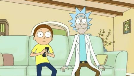 Рик и Морти смотрят на тебя через межпространственное кабельное телевидение